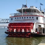The Belle of Louisville is the country's oldest operating steam ship.