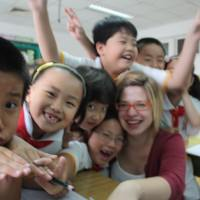 Katie spent three years teaching in Beijing
