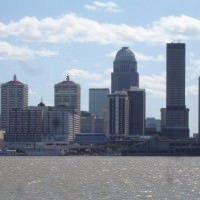 Louisville skyline - Fall 2009