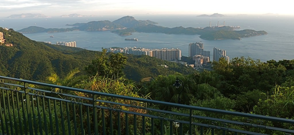 View from Victoria Peak Garden