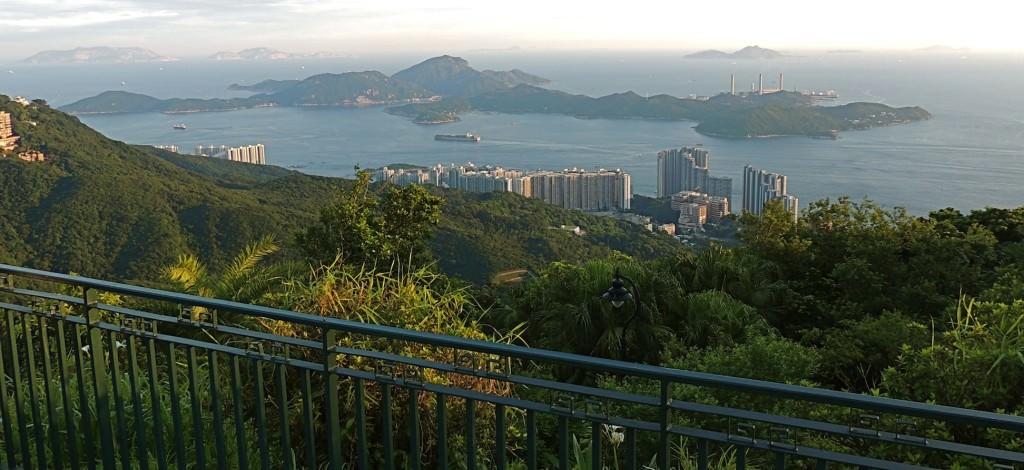 View from Victoria Peak Garden