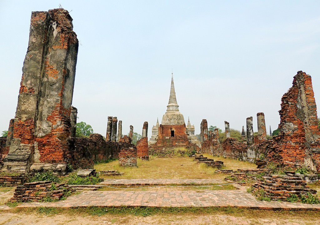 The ruins of Wat Phra Si Samphet were among my favorites in Southeast Asia.