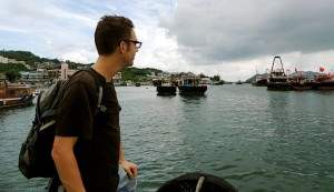 Cheung Chau, Hong Kong- July 2013